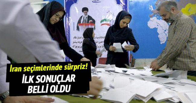 İran'da ilk seçim sonuçları