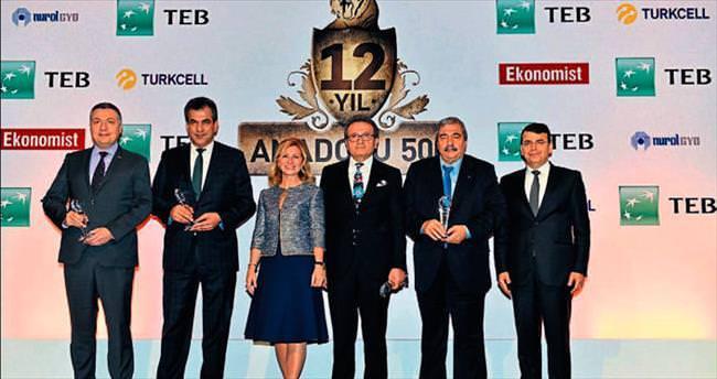Kipaş Holding Anadolu 500'de