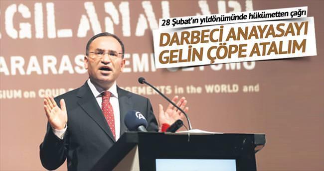 Bozdağ: Yeni anayasa darbeci ruhu öldürür