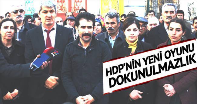 HDP'nin dokunulmazlık oyunu