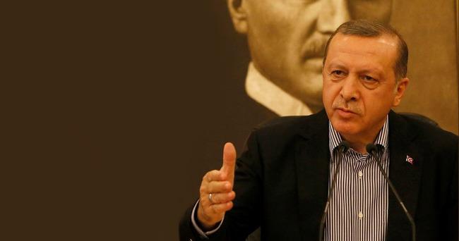 Erdoğan: Can Dündar ve Gül'ün tahliyesi hakkında sert konuştu