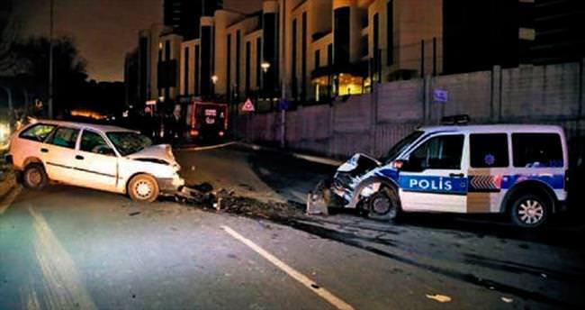 Polisten kaçarken polise çarpıp öldü