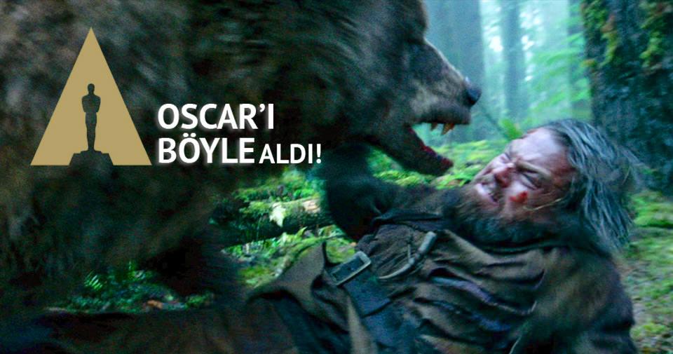 DiCaprio'ya Oscar'ı kazandıran filmin kamera arkası