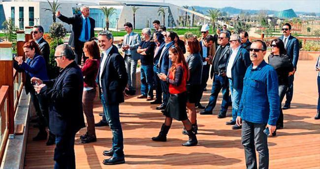 EXPO'da medya turu