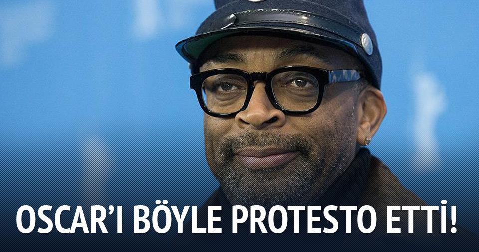Spike Lee Oscar'ı NBA maçına giderek protesto etti