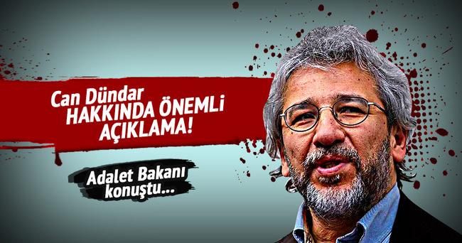 Bozdağ'dan Can Dündar açıklaması: Karar Anayasa ihlalidir!