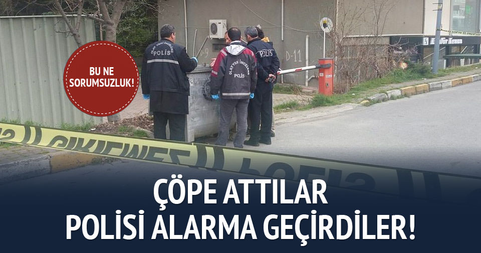 İstanbul'da 'dinamit' alarmı