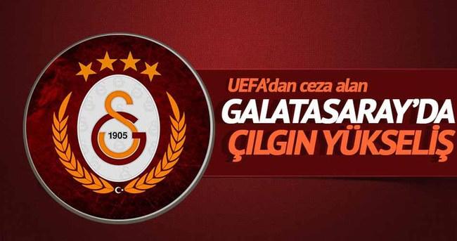 Galatasaray hisseleri men cezasının ardından yükseldi