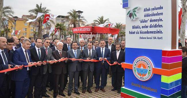 Şehit savcı Kiraz'ın adının verildiği park açıldı