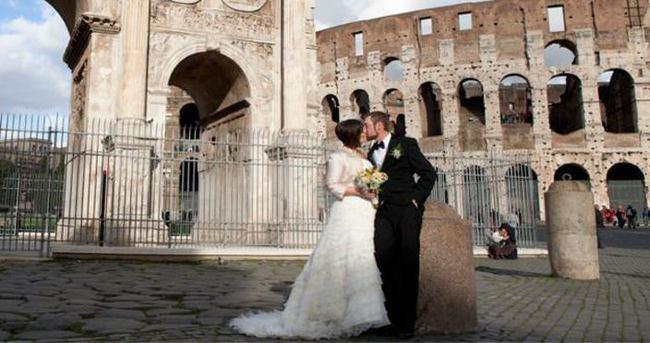 Roma'da evlenmek için 5 neden