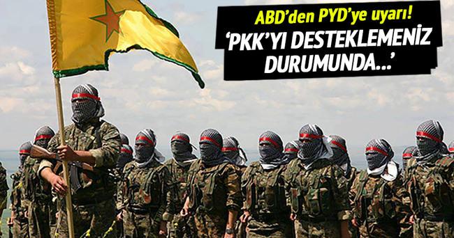 ABD'den PYD'ye uyarı!