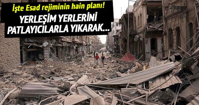 Suriye rejimi sivillerin barınmasını engelliyor!