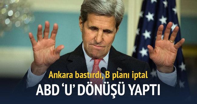 Ankara bastırdı, B planı iptal