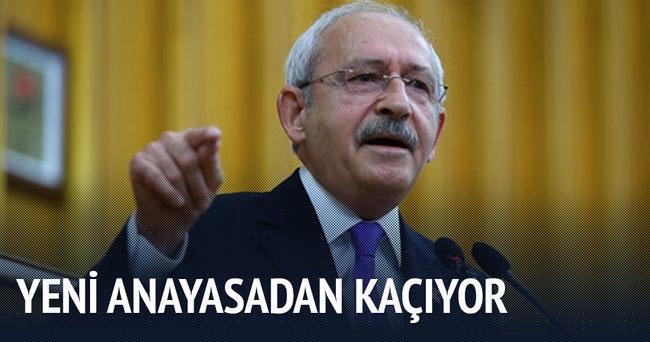 Kılıçdaroğlu, yeni anayasadan kaçıyor