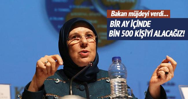Aile Bakanı Ramazanoğlu Bir aya kadar bin 500 psikolog alacağız