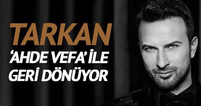Tarkan'ın yeni albümü için geri sayım başladı