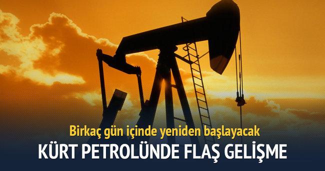 Kürt petrolünde flaş gelişme!