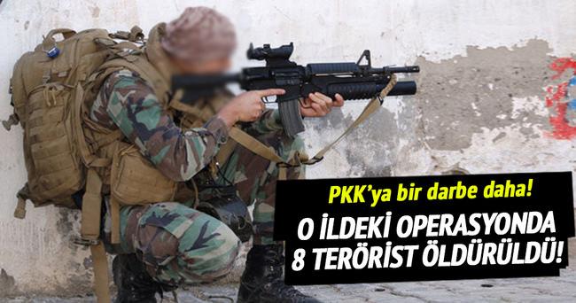 Mardin'de 8 terörist öldürüldü!