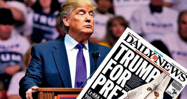 KKK'dan Trump'a baş ağrıtan destek