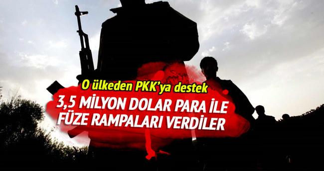 İran'dan PKK'ya füze rampası