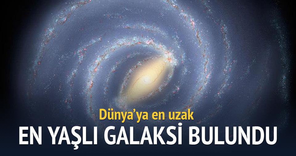 Dünya'ya en uzak ve en yaşlı galaksi bulundu