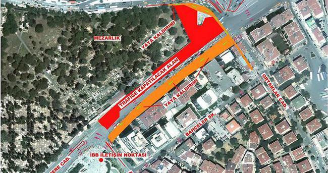 Mecidiyeköy'de 410 gün sürecek trafik düzenlemesi
