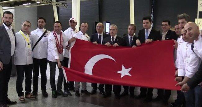 Türk aşçıları Londra'da rekora imza attı