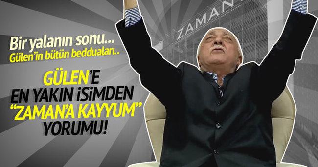 Gülen'in en yakın isminden 'Zaman'a Kayyum' açıklaması