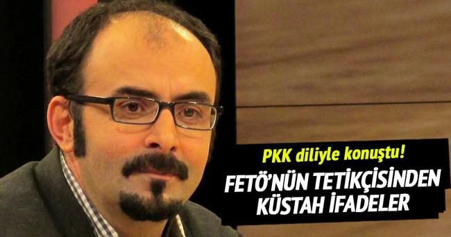 FETÖ tetikçisi Uslu, PKK diliyle konuştu!