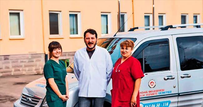 7 yılda 9 bin hastaya evde bakım hizmeti