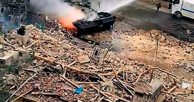 Nusaybin'de hain saldırı: 2 şehit 53 yaralı
