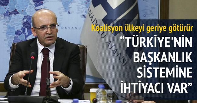 Başkanlık sistemi Türkiye'nin önünü açar