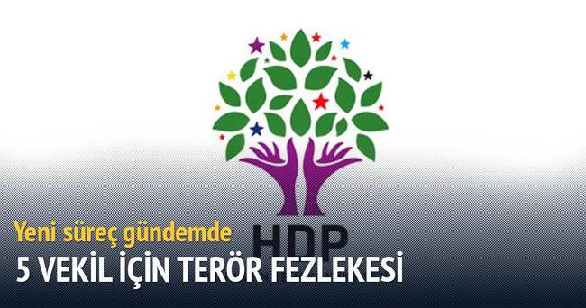 5 HDP'li ye terör fezlekesi