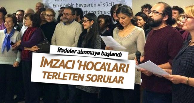 İmzacı 'hoca'lara PKK sınavı