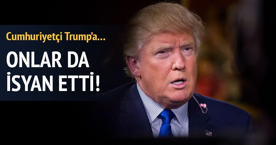 Cumhuriyetçiler de Trump'a isyanda