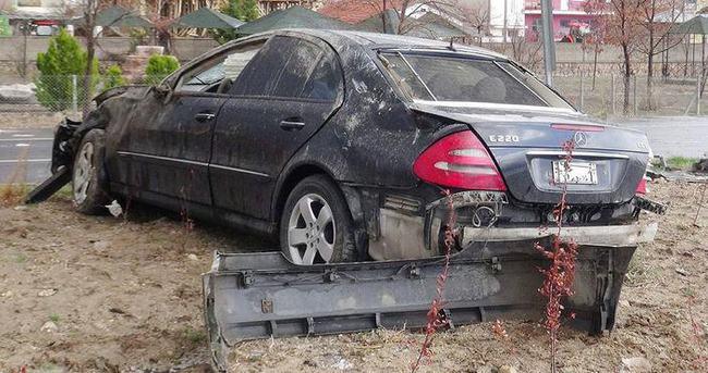 AK Partili başkanlar kaza geçirdi