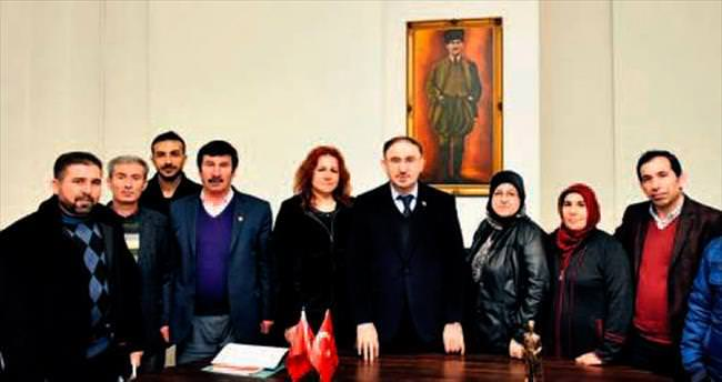 Yörük Türkmenler tanışma ziyaretinde
