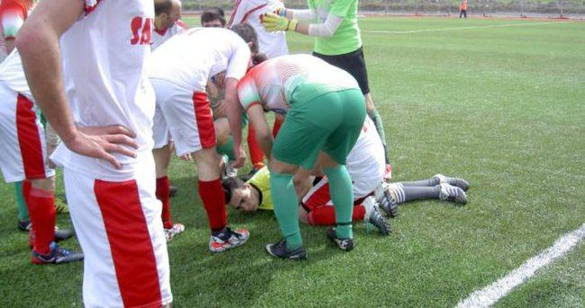 17 yaşındaki aday hakem, maç sırasında kalp krizi geçirip öldü