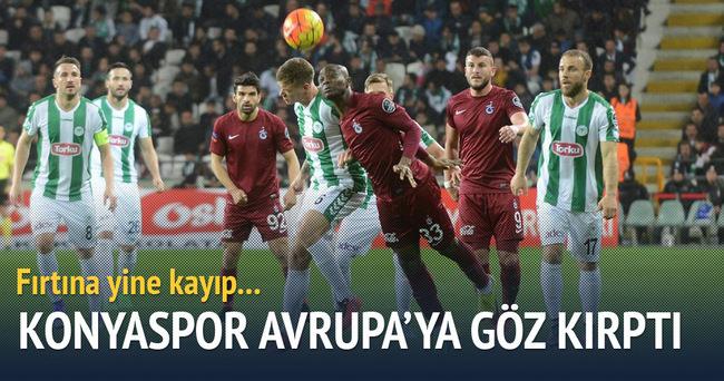 Konyaspor Trabzonspor'u mağlup etti