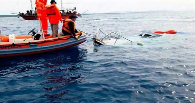 Yine mülteci teknesi battı: 25 ölü