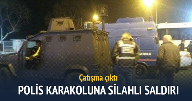 Polis karakoluna silahlı saldırı! Çatışma çıktı