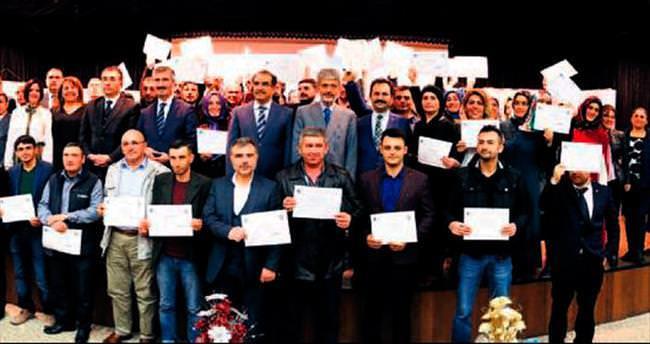 Sincanlı girişimciler sertifikalarını aldı