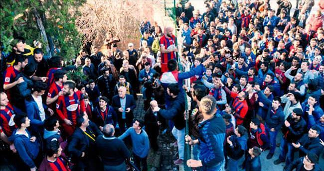 Cezalı Kırıkkalespor'a taraftardan destek