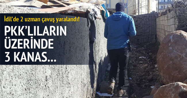 İdil'de çatışma: 2 asker yaralı