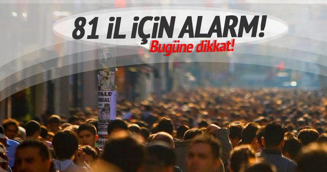 81 ilin valilik ve emniyet güçlerine terör saldırısı uyarısı