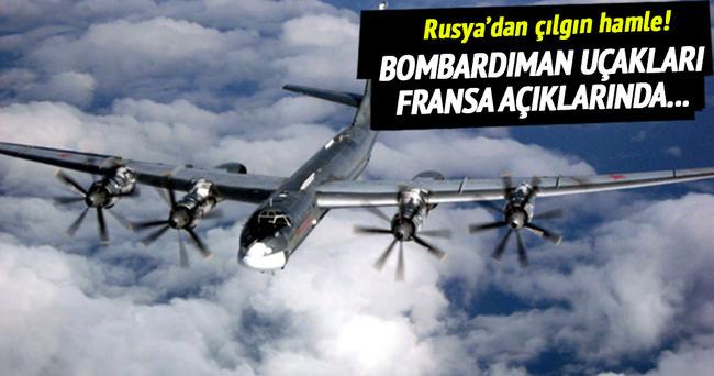 Rus uçakları Fransa ve İngiltere'yi karıştırdı