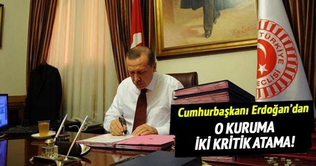 Erdoğan'dan YÖK üyeliklerine atama!