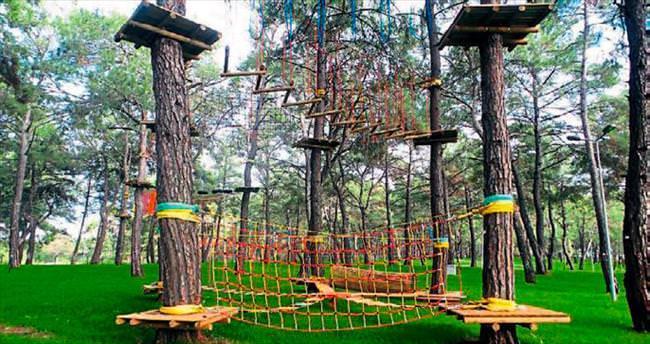 Kepez macera parkı heyecanı