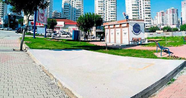 Seyhan Belediyesi betonu çok sever