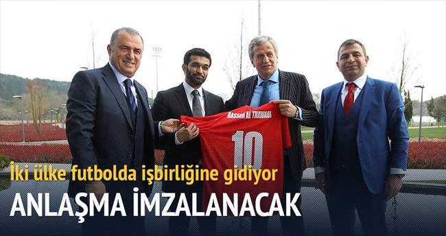 Katar ve Türkiye'den kupa kardeşliği